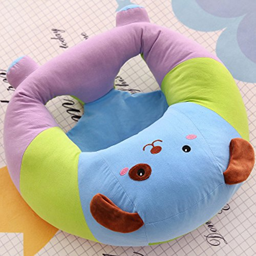 Lecent@ Lovely Animal Infant Safe Sitting Chair Comfortable Nursing Pillow Protectors for 3-12 Months (Dog)