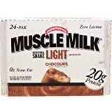 Muscle Milk Light Nutritional Shake - Chocolate - 8.25 oz - 24 ct
