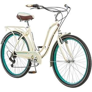 """26"""" Schwinn Fairhaven Women's 7 speed Cruiser Bike, Cream"""