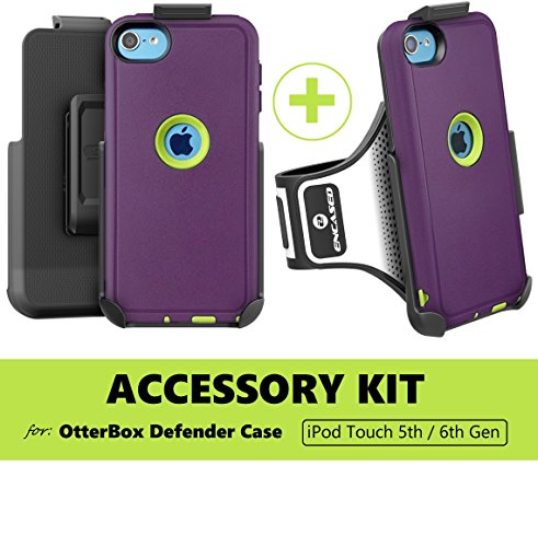 Encased Accessory Kit for Otterbox Defender Case (iPod Touch 5th Gen 6th Gen) (Case not included)