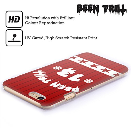 Official Been Trill Red Star Jersey Hard Back Case for Apple iPhone 5 / 5s / SE