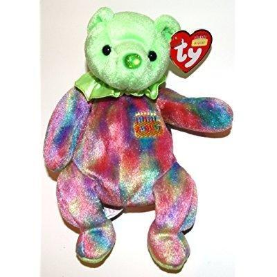 3f94b3c93d1 TY August Birthday Bear Beanie Baby  Amazon.co.uk  Toys   Games