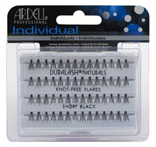 Ardell Duralash Naturals Flare Short Black (56 Lashes) (2 Pack)