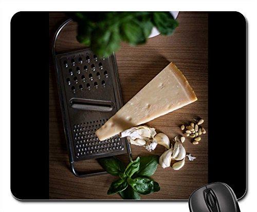 Mouse Pads - Parmesan Garlic Baslikium Pine Nuts Grater (Parmesan Pesto)