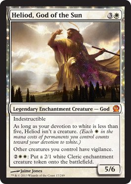 (Magic: The Gathering - Heliod, God of the Sun (17/249) - Theros)