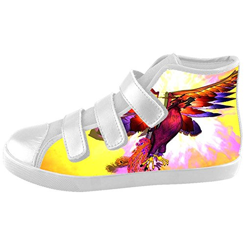 Dalliy Fire phoenix Kids Canvas shoes Schuhe Footwear Sneakers shoes Schuhe C