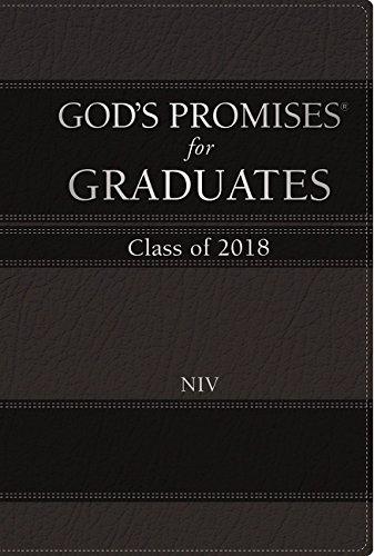 Download God's Promises for Graduates: Class of 2018 - Black NIV: New International Version pdf