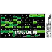 EMACS EDITOR KEYBOARD STICKERS FOR DESKTOP, LAPTOP AND NOTEBOOK