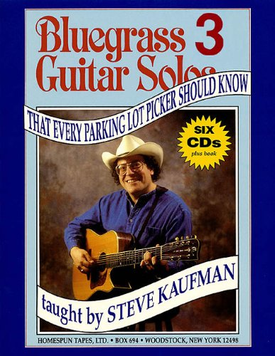 Bluegrass Guitar Solos That Every Parking Lot Picker Should Know (Bluegrass Guitar Solos Every Parking Lot Picker Should Know)