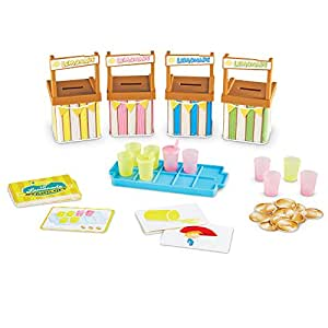 Learning Resources Lil' Lemonade Stand-Off Memory Matching Game, 66 Pieces