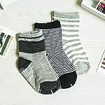 DEBAIJIA Calzini Cotone Neonato Bambino 0-7 Anni Calzini Traspiranti Confortevole Morbido Primavera Estiva Autunno… Abbigliamento 15