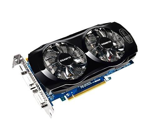 Gigabyte GeForce GTX560 - Tarjeta gráfica NVIDIA (Memoria de 1024 MB GDDR5, PCI-e, 2 DVI-I, HDMI, Activo)