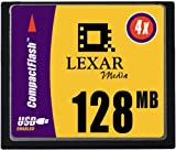 Lexar Media 128 MB CompactFlash Digital 4X ( CF128-231 )