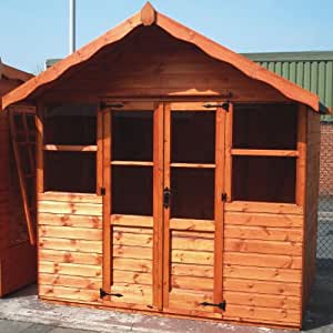 TGB 8ft x 8ft (2.5m x 2.5m) Balmoral 22mm Summerhouse
