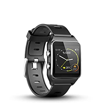 LUKAWIT GPS Running Watch with Heart Rate & Sleep Monitor,17 Sports Mode,Smart Watch Sleep Trackers with Pedometer Step Calories Counter for Women Men ...
