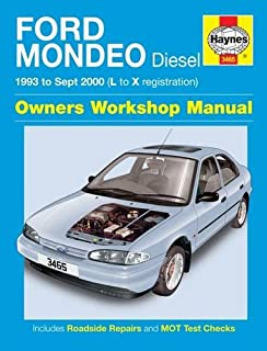 Ford Mondeo Diesel (93 - Sept 00) L To X: 1993 to 2000