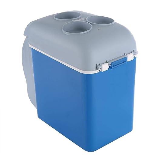 QCHEA Inicio de Doble Uso de 12V 7.5L Mini refrigerador, Camping ...