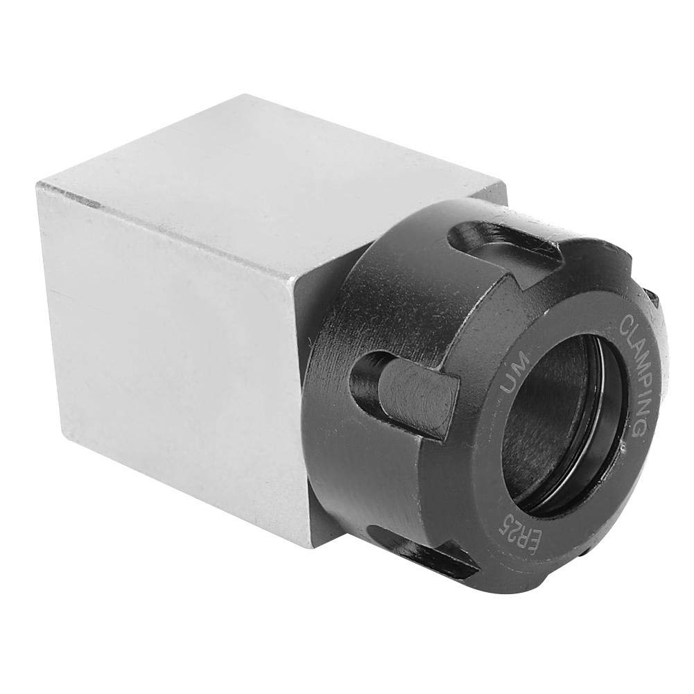 1# Soporte de pinza de mandril de bloque ER25 para m/áquina de grabado de torno Soporte de pinza de mandril de bloque