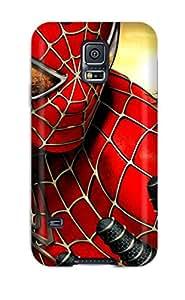 Sanchez Mark Burgess's Shop 3323211K40234910 Durable Spider-man Back Case/cover For Galaxy S5