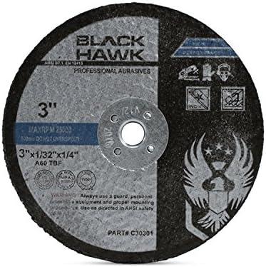 5 Pack Black Hawk 3 x 1 x 1//4 Shank Mounted Flap Wheels 120 Grit Aluminum Oxide