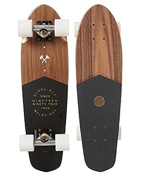 GLOBE Skateboards Blazer Cruiser Skateboards Complete, Walnut, 26