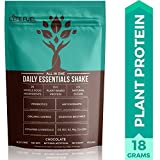 Vegan Plant Based Protein Powder Meal Replacement Shake by LyfeFuel, Vegetarian & Keto Friendly, Low Carb Raw Superfood for Men and Women - 18 G Protein (Chocolate)