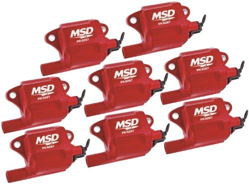 MSD 82878 Multiple Spark Coil, (Set of 8)