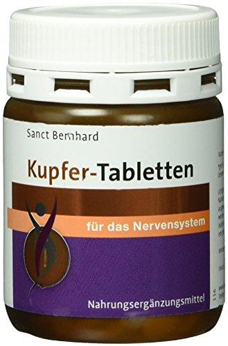 Sanct Bernhard Kupfer-Kapseln- 180 Tabletten, 1er Pack (1 x 40 g)