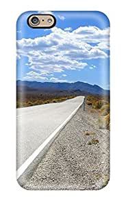 New Iphone 6 Case Cover Casing(the Long Road Ahead To Nowhere Stretching Away Nature Other)