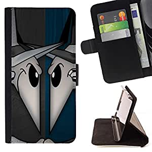 DEVIL CASE - FOR Sony Xperia Z3 D6603 - Evil Rats - Style PU Leather Case Wallet Flip Stand Flap Closure Cover