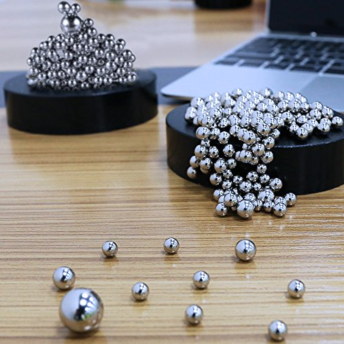 Stress Relief Desk Toys, G-WACK Desk Sculpture Decor Fidget Toy for Anxiety, Autism, Boredom and Intelligence Development ( 171+50 Balls with Base )