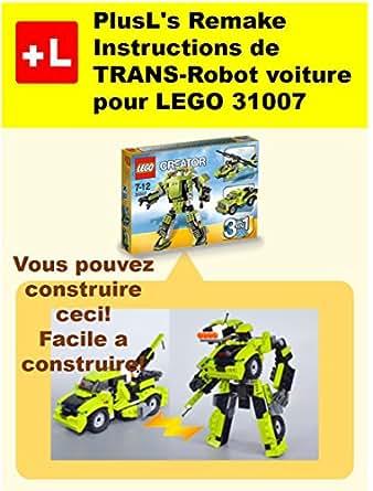 Plusl 39 s remake instructions de trans robot voiture pour for Construire vos propres plans