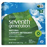 Wholesale CASE of 10 - Seventh Gen. Natural Laundry Detergent-Powder Laundry Detergent, Biodegradable, 112 oz., Natural