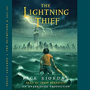 The Lightning Thief Percy Jackson And The Olympians Book 1 Aud