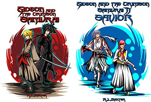 Gideon and the Crimson Samurai (2 Book Series)