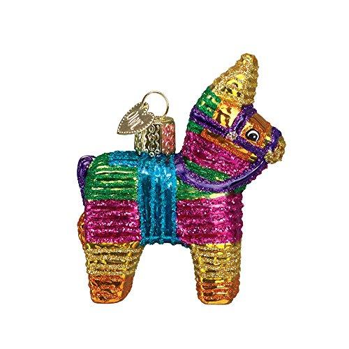 Old World Christmas Mexican Fiesta Glass Blown Ornament (Pinata)