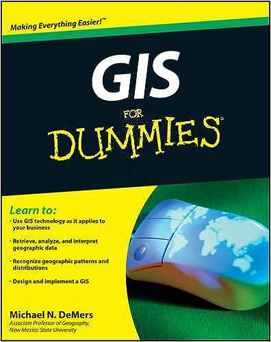 Gis For Dummies Michael N Demers 8601400774274 Amazoncom Books