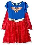 DC Comics Little Girl Halloween Costume Dress Wonder Woman Supergirl Ages 2-6
