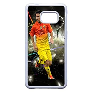 Samsung Galaxy S7 Phone Case White Barcelona soccer player Lionel Messi Case Cover PP7U376420