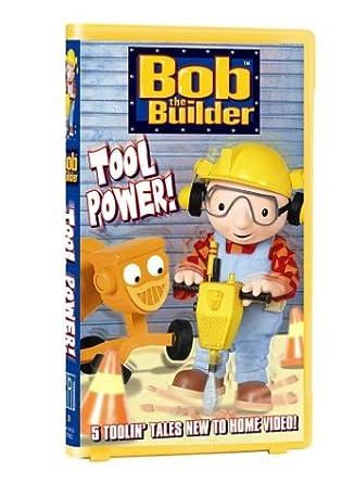 Amazoncom Bob The Builder Tool Power Vhs Rob Rackstraw Kate