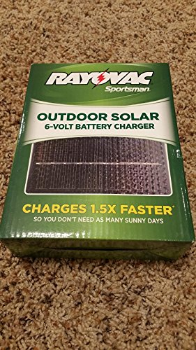 Rayovac Sportsman Outdoor Solar 6-Volt Battery Charger by Rayovac