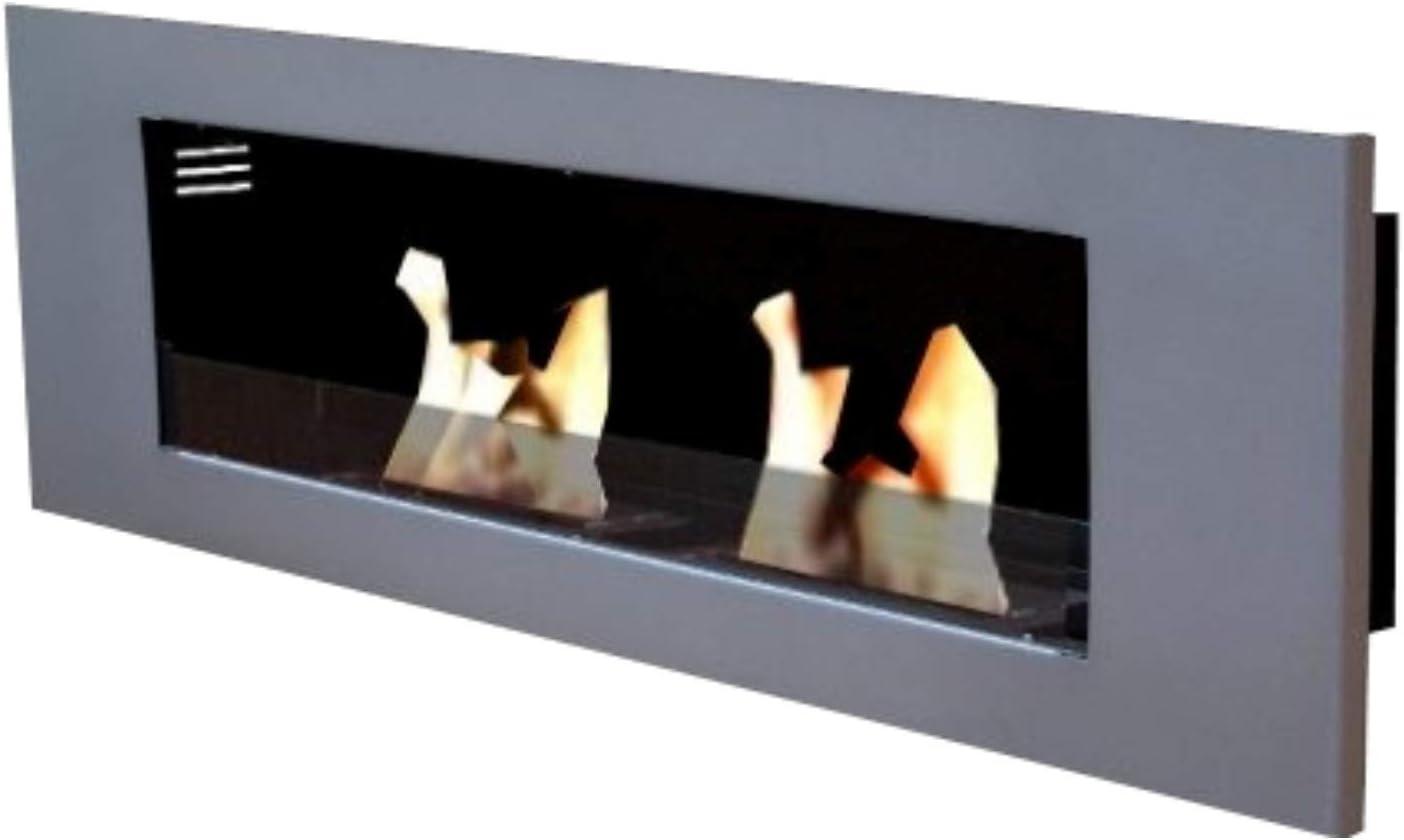 Etanol y para chimenea modelo Paris Deluxe Royal con 2 regulable de quemadores de acero inoxidable - seleccione el colour: Amazon.es: Hogar