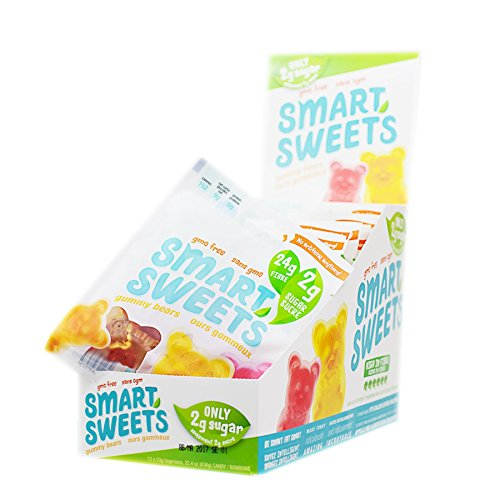 SmartSweets Low Sugar Gummy Bears Candy