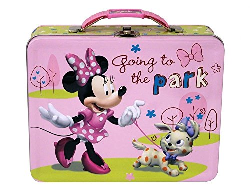 Disney Minnie Mouse - Going to the Park -3D Embossed Tin Carry All Box