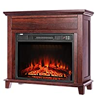 VIVOHOME 32 Inch Wide Electric Fireplace...