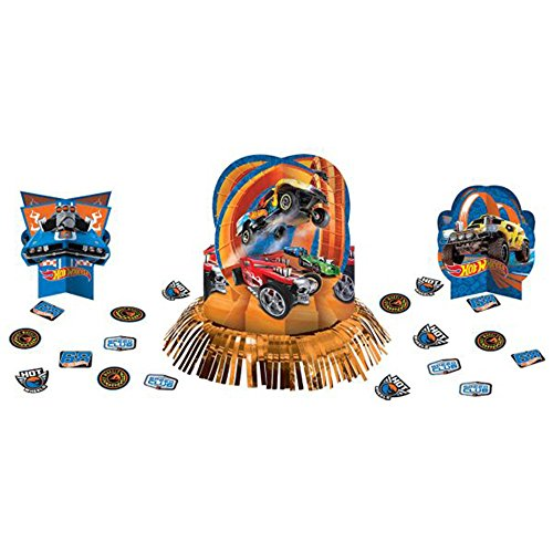 Amscan Hot Wheels 'Wild Racer' Table Decorating Kit (23pc)