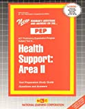 Health Support : Area II, Rudman, Jack, 0837355494