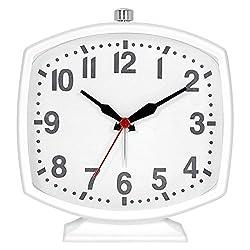 Ashton Sutton Contemporary Alarm Clock