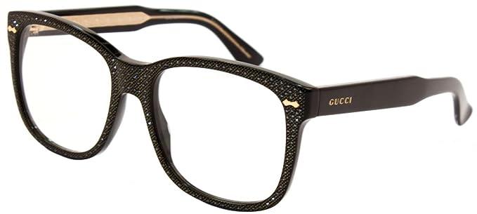 Gucci GG0047S 002, Gafas de sol para Mujer, Negro (Black ...
