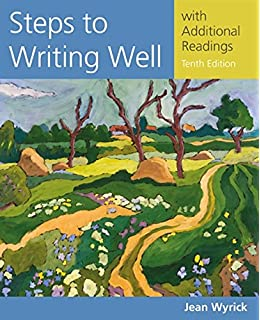 Amazon steps to writing well with additional readings steps to writing well with additional readings wyricks steps to writing well series fandeluxe Choice Image